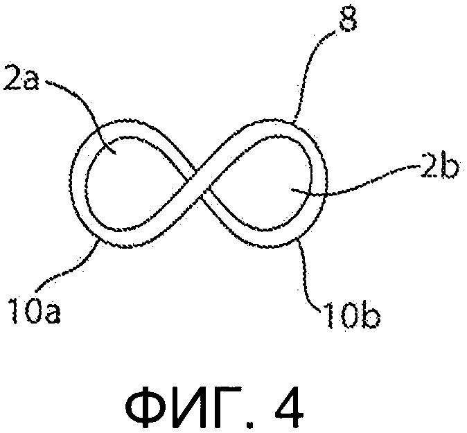 Технические ткани, содержащие витки в форме символа бесконечности