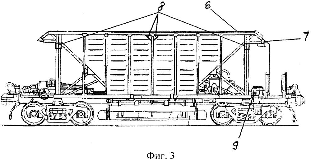 Система освещения грузового вагона железнодорожного подвижного состава