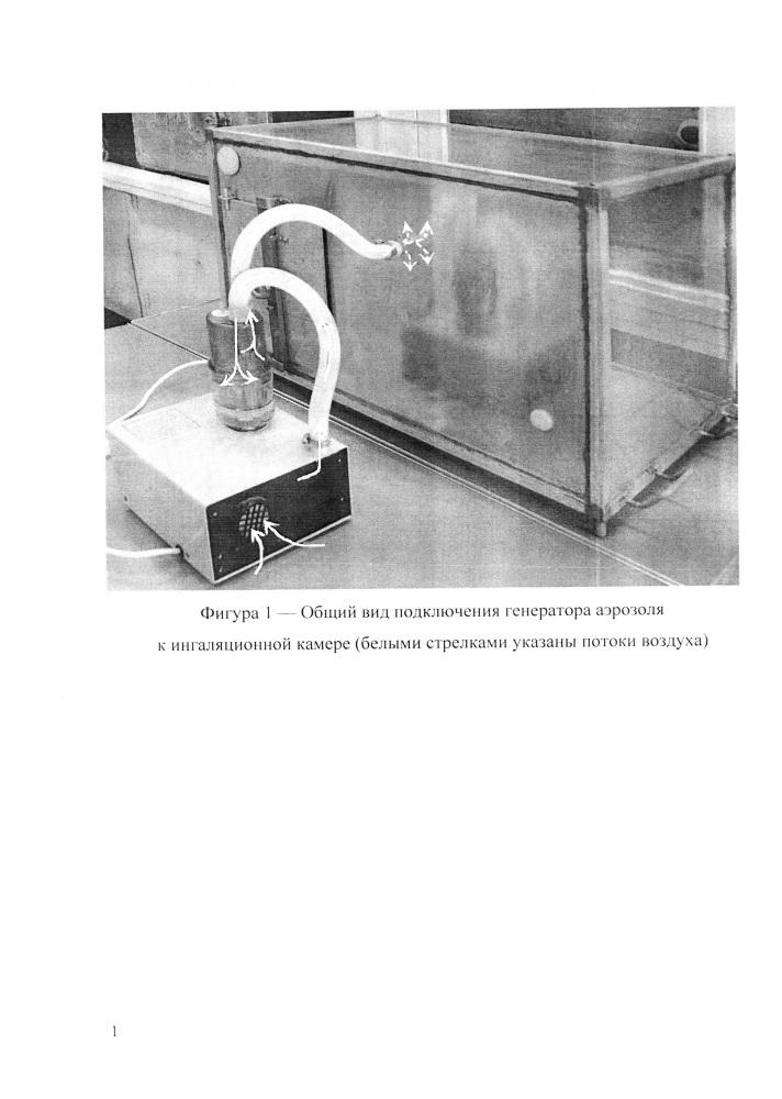 Способ заполнения ингаляционной камеры аэрозолем при исследовании ингаляционной токсичности веществ