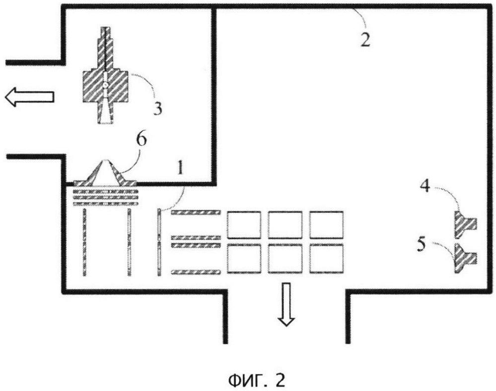 Двухканальный масс-спектрометр по времени пролета с однонаправленными каналами