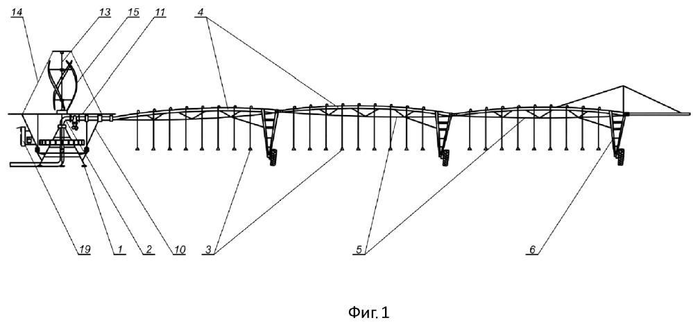 Электрифицированная дождевальная машина кругового действия