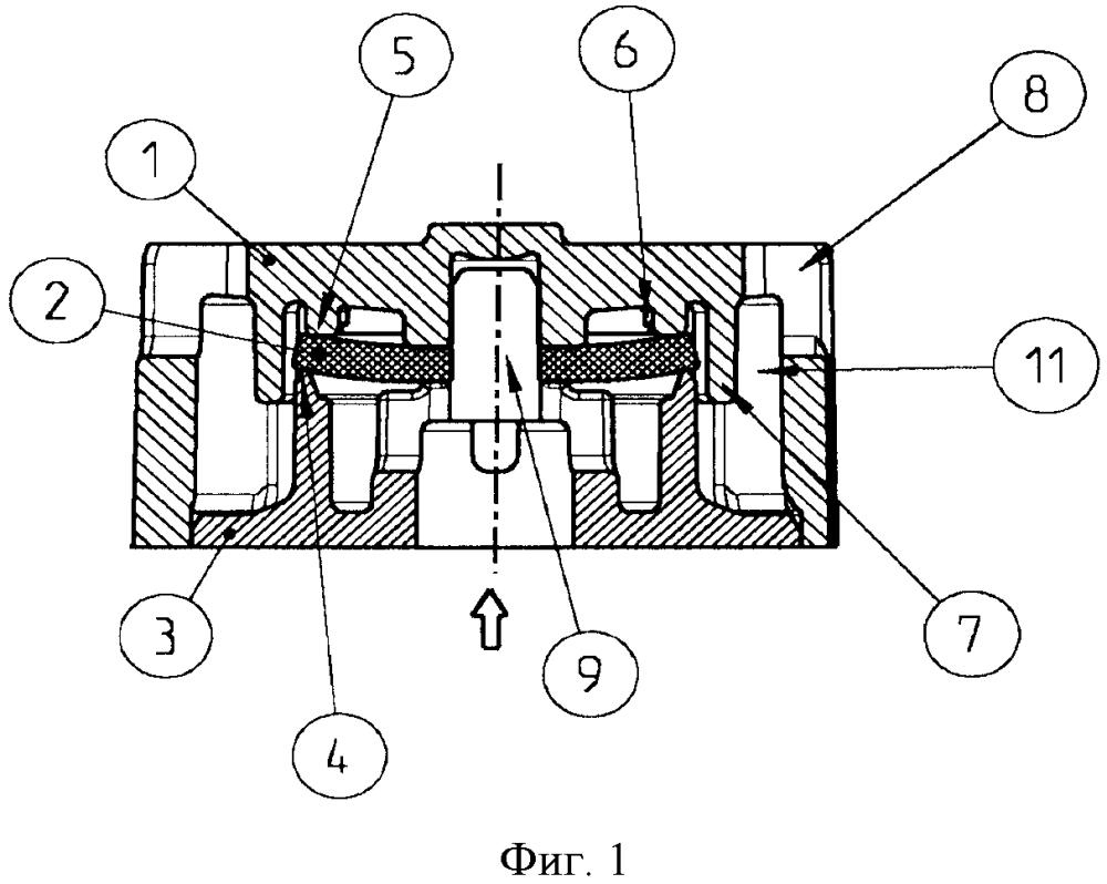 Обратный клапан для вентиляционных или выпускных отверстий компрессорных установок транспортных средств