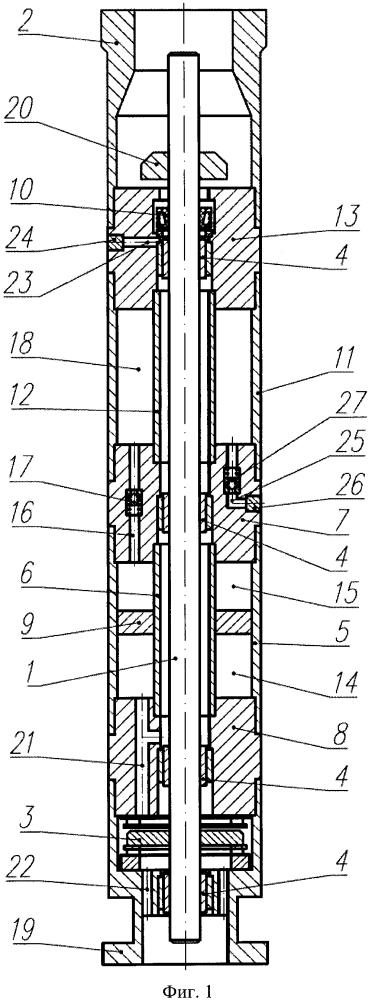 Узел для гидравлической защиты погружного маслозаполненного электродвигателя (варианты)