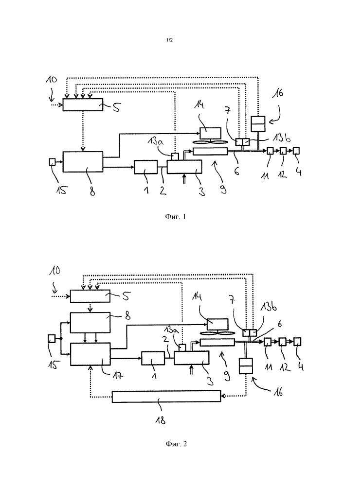 Компрессорная система для рельсового транспортного средства и способ функционирования компрессорной системы с безопасным режимом аварийного хода