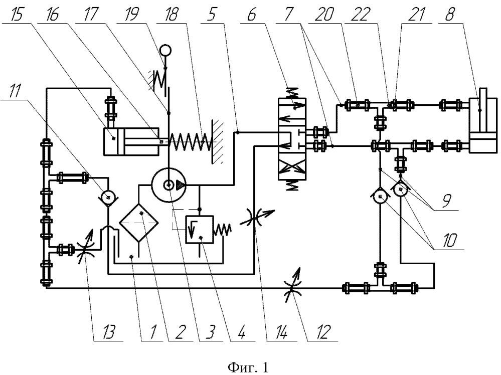 Гидравлическая система с устройством защиты