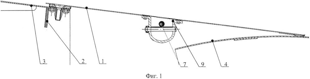 Устройство для сочленения наружной поверхности поворотного реактивного сопла турбореактивного двигателя и мотогондолы самолета
