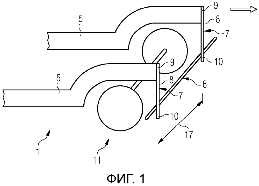 Устройство для распознавания препятствий у рельсовых транспортных средств