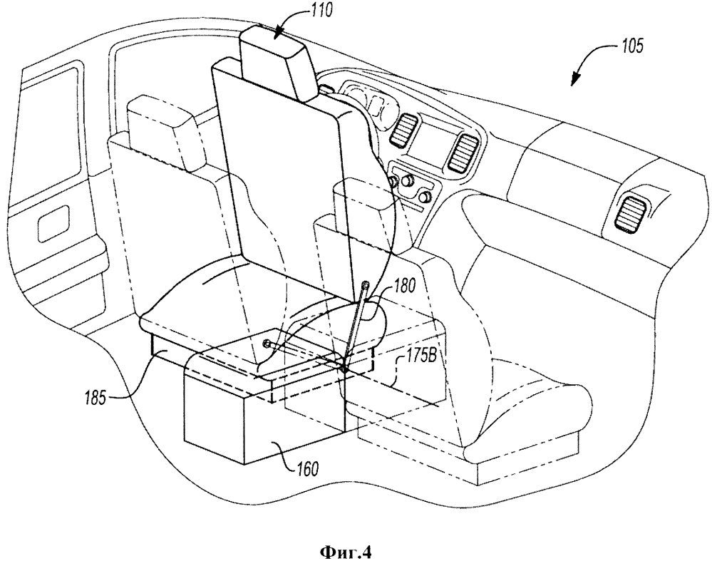 Автономное транспортное средство с многоместными нераздельными сиденьями с изменяемой ориентацией