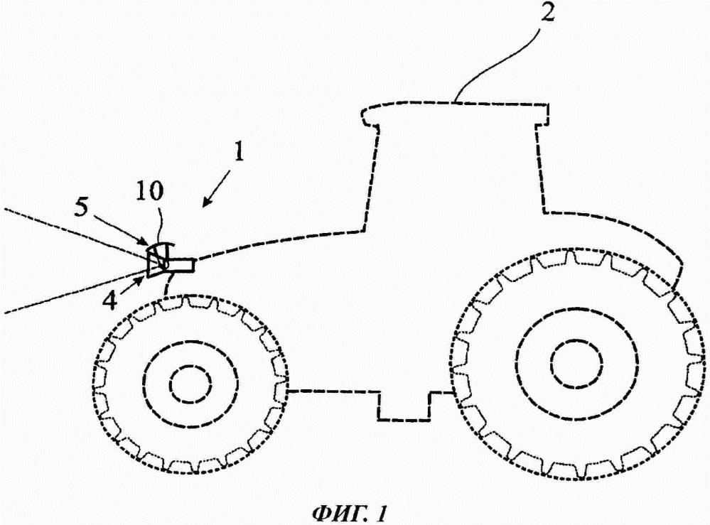 Оптическая система для сельскохозяйственной машины