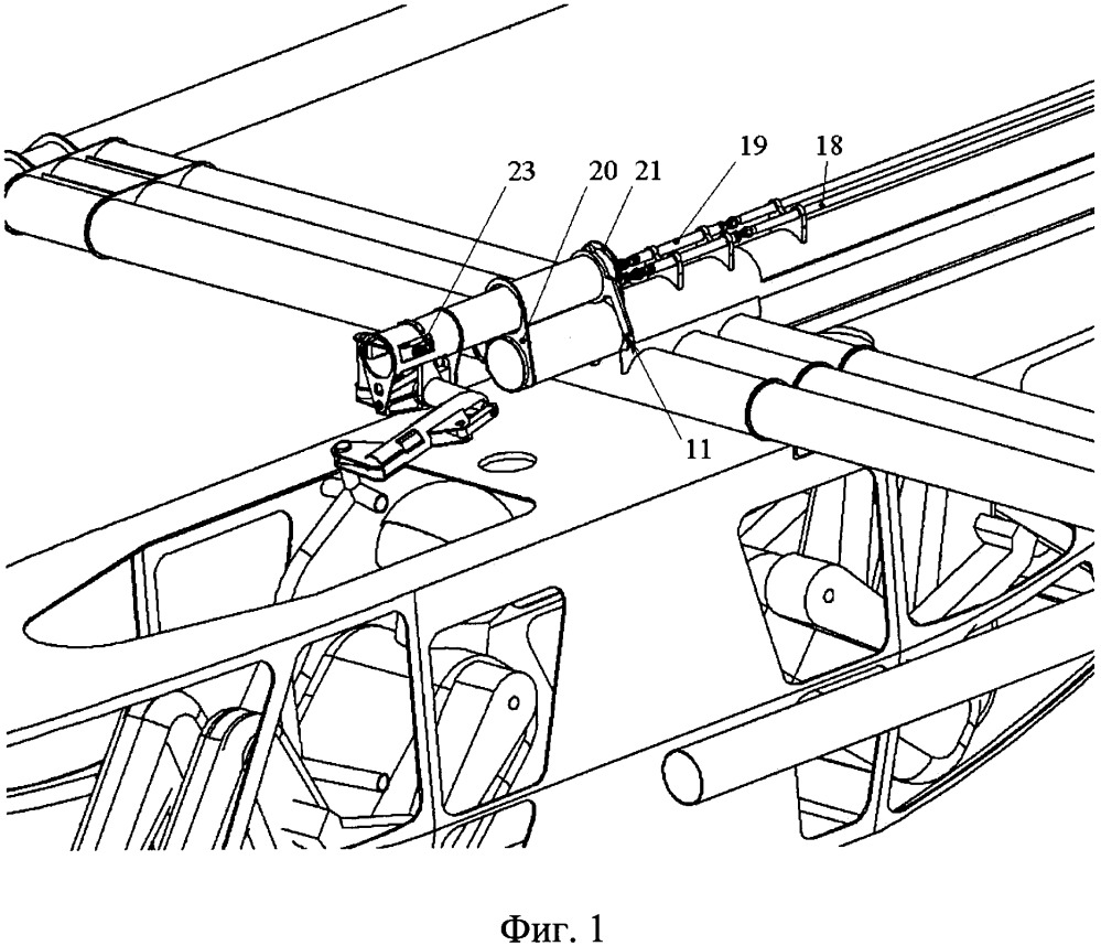Трехкоординатный пост ручного управления самолетом