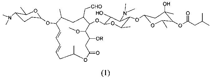 Левоизовалерилспирамицин ii, препараты, способ приготовления и употребления