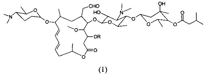 Левоизовалерилспирамицин iii, препараты, способ приготовления и употребления