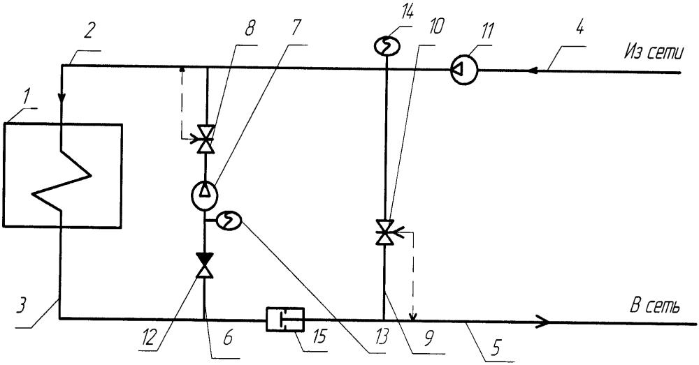 Теплогенерирующая установка