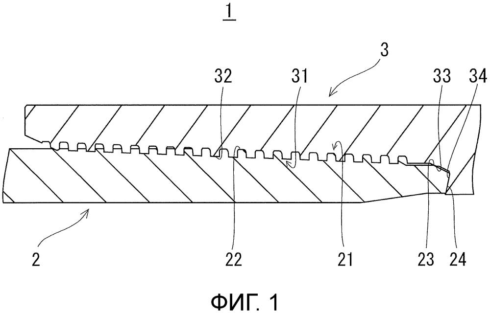Резьбовое соединение для труб нефтепромыслового сортамента и состав для фотоотверждаемого покрытия