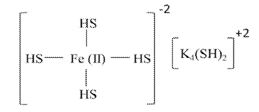 Высокоактивный катализатор с наночастицами железа для абсорбции сероводорода