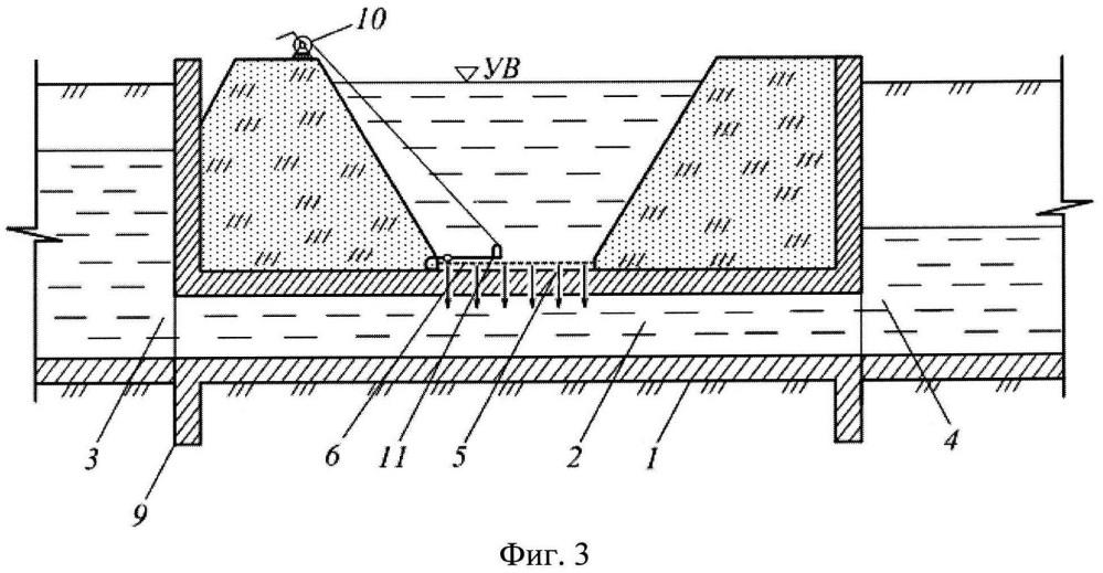 Устройство для обводнения элементов гидрографической сети из каналов