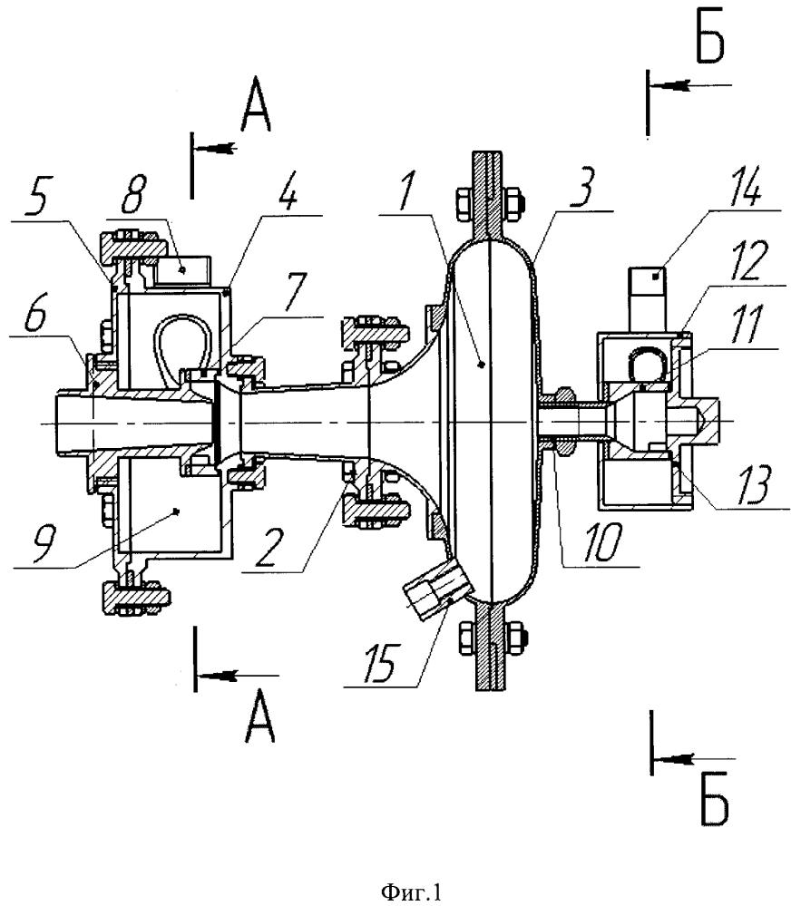 Противоточное вихревое горелочное устройство для сжигания твёрдого пылевидного топлива