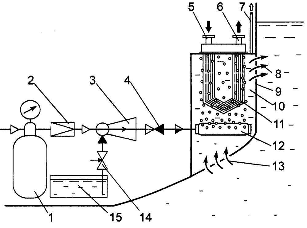 Способ защиты теплообменной поверхности забортного охладителя от обрастания