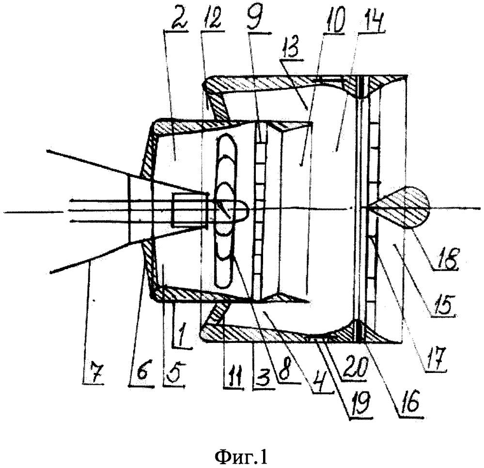 Эжекторный двухконтурный водометный движитель для подводных аппаратов