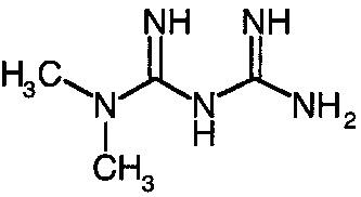 Способ сухого гранулирования для получения композиций метформина в виде таблеток и его композиции