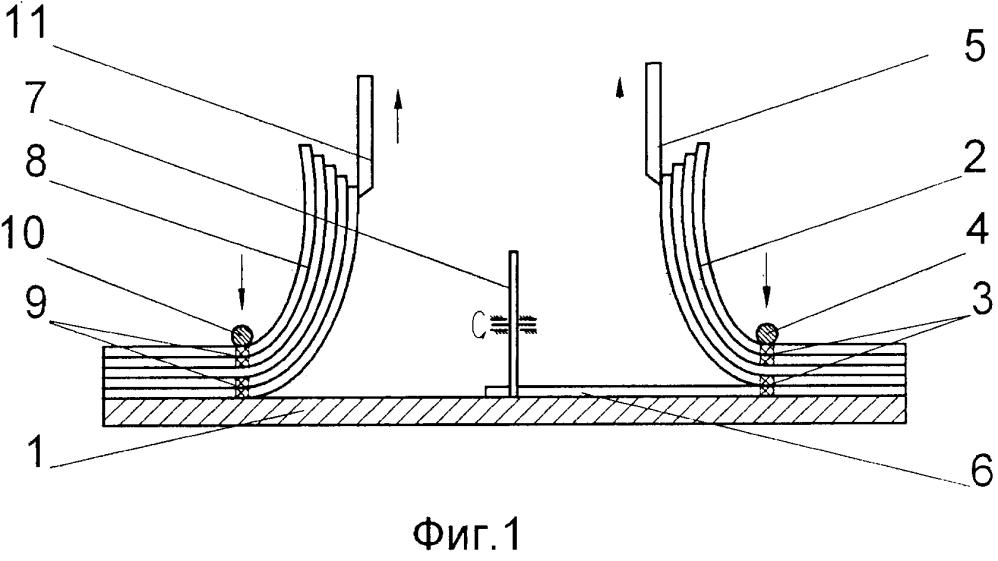 Способ изготовления георешетки неограниченной длины и ширины из отдельных секций