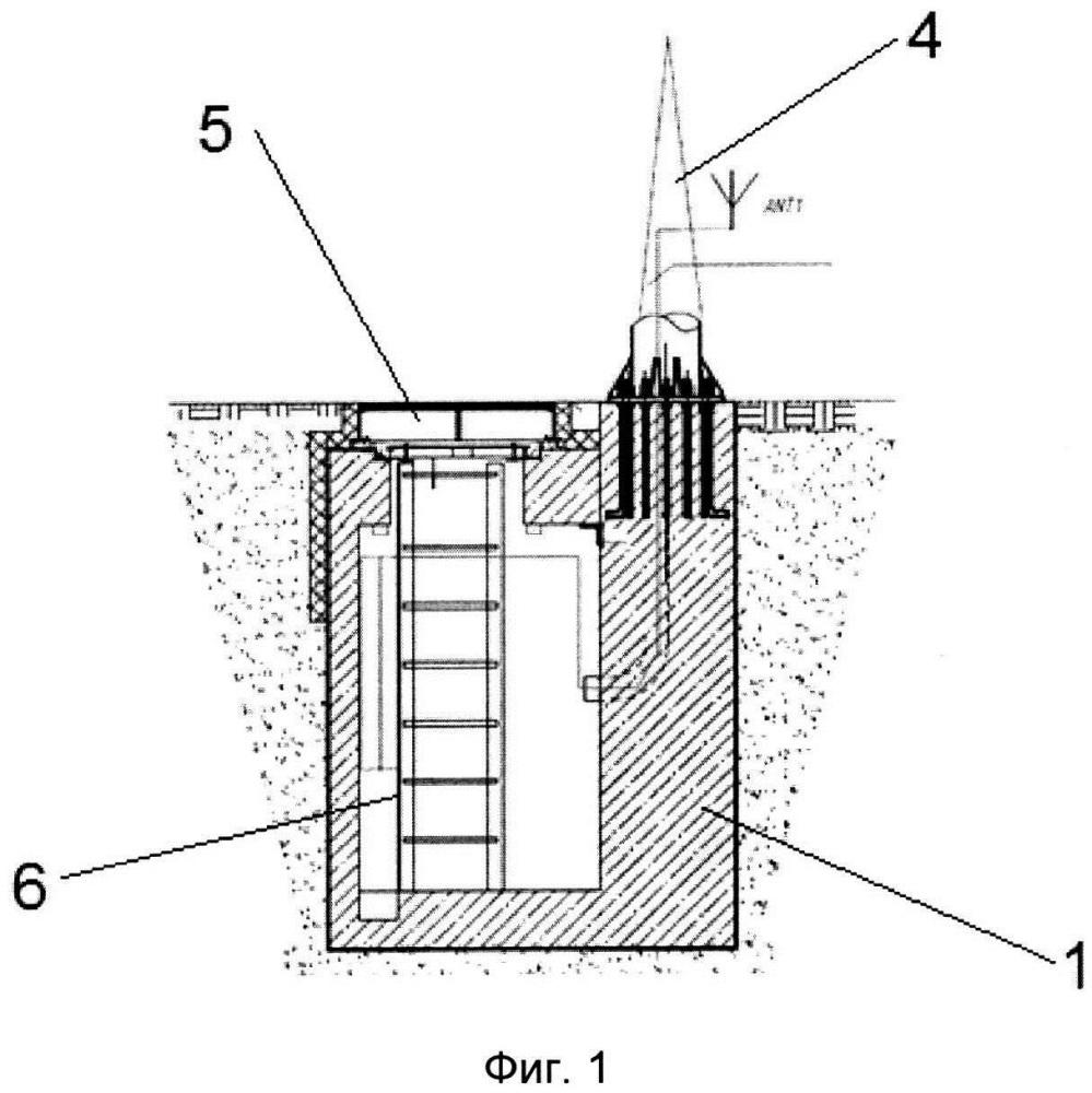 Подземная базовая станция и автоматическая система управления состоянием подземной базовой станции