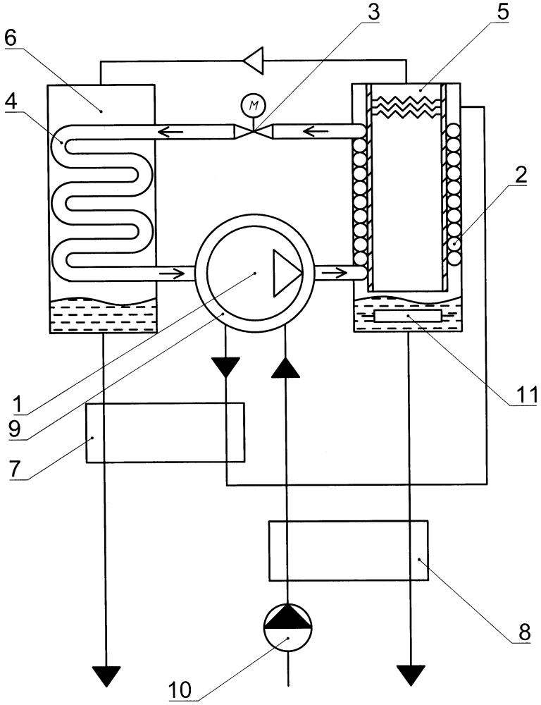 Мобильный аппарат для дистилляции жидкости