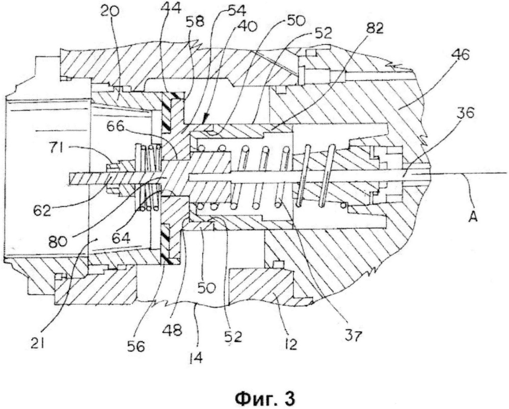 Предохранительное запорное устройство с узлом предотвращения вращения тарелки клапана
