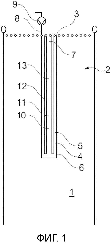 Способ прокладывания канала в установке для сжигания, а также устройство, имеющее такого рода канал
