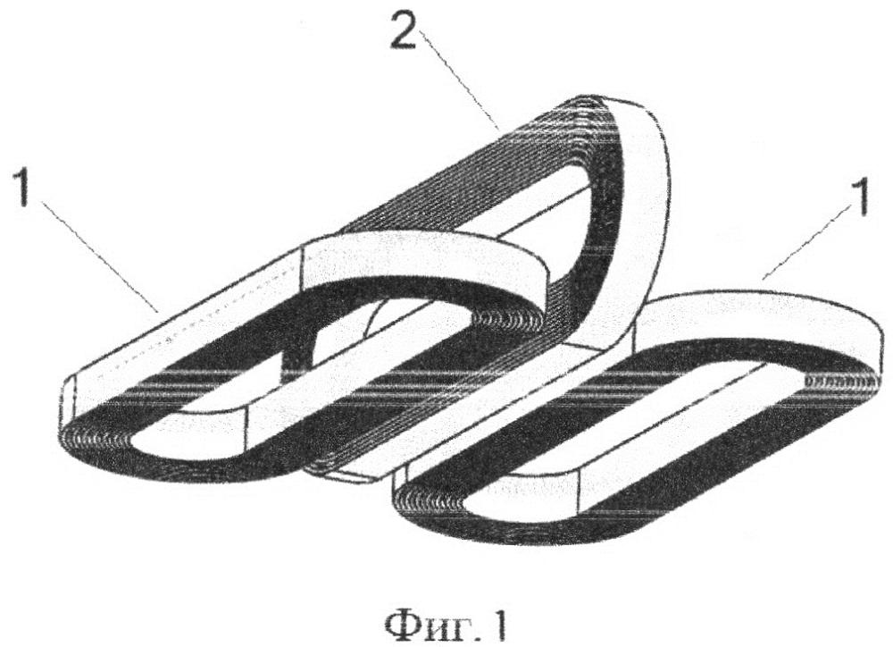 Система магнитной левитации и боковой стабилизации магнитолевитационного транспортного средства