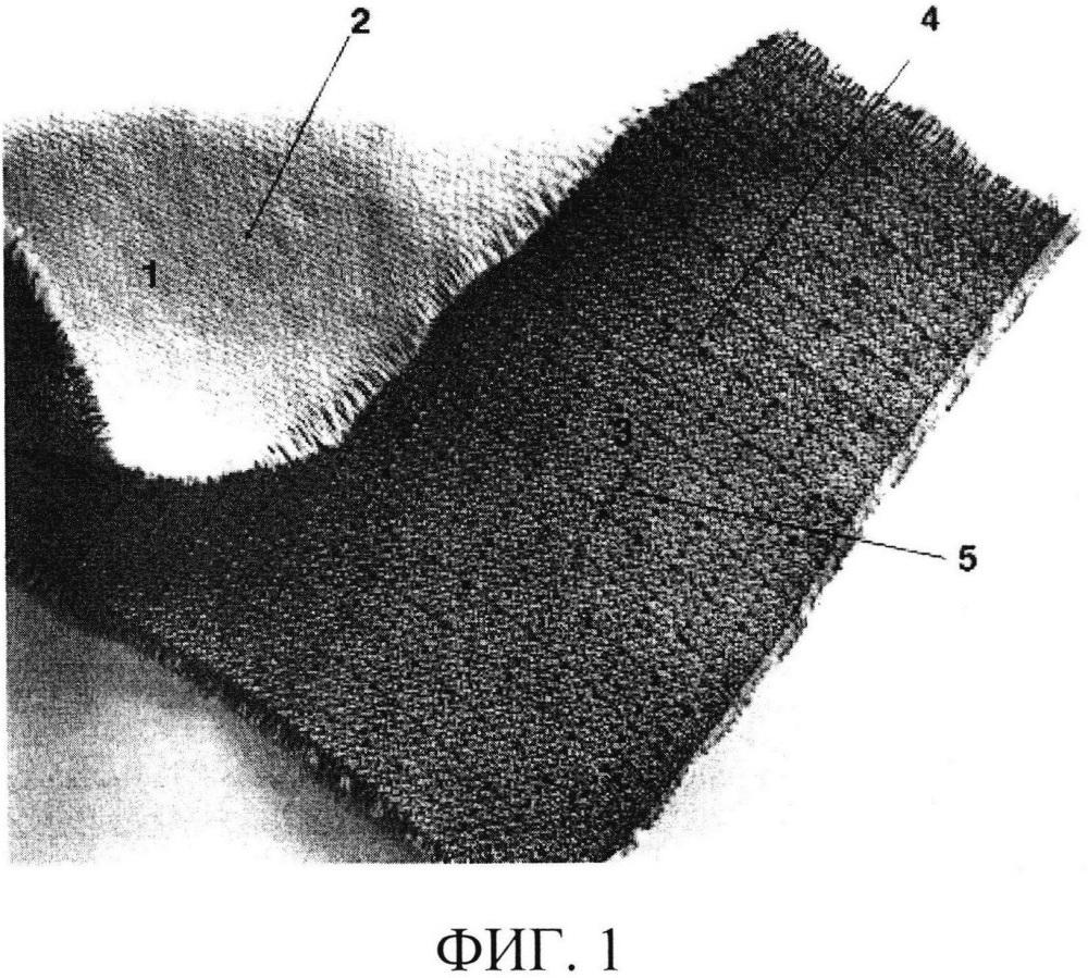 Двухслойная защитная ткань