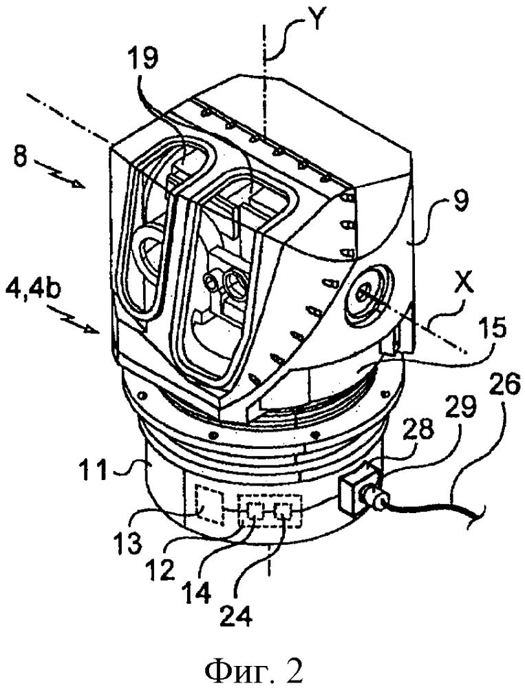 Оптоэлектронный прицел с модульной броневой защитой