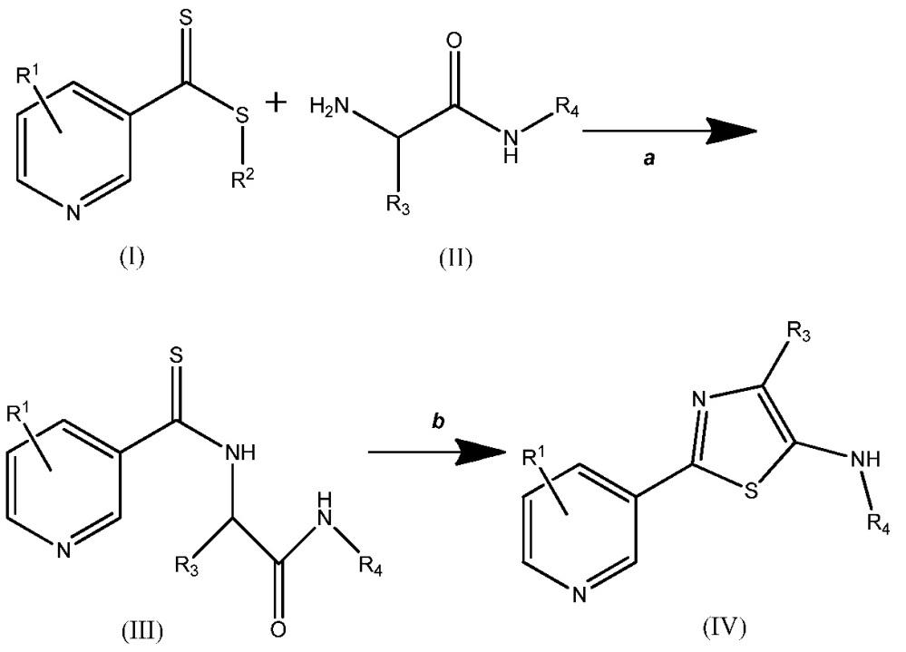 Способы получения определенных 2-(пиридин-3-ил)тиазолов