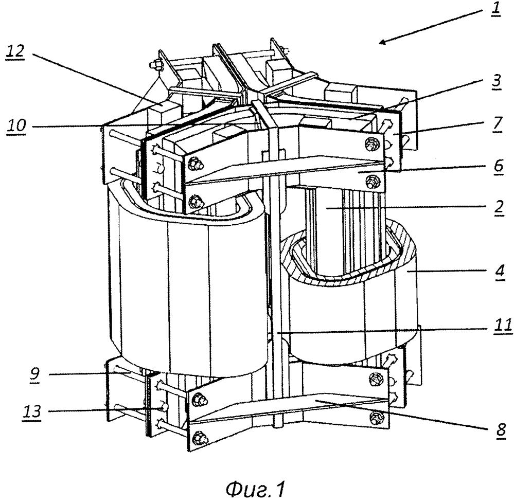 Способ изготовления трансформатора с наборным треугольным магнитопроводом