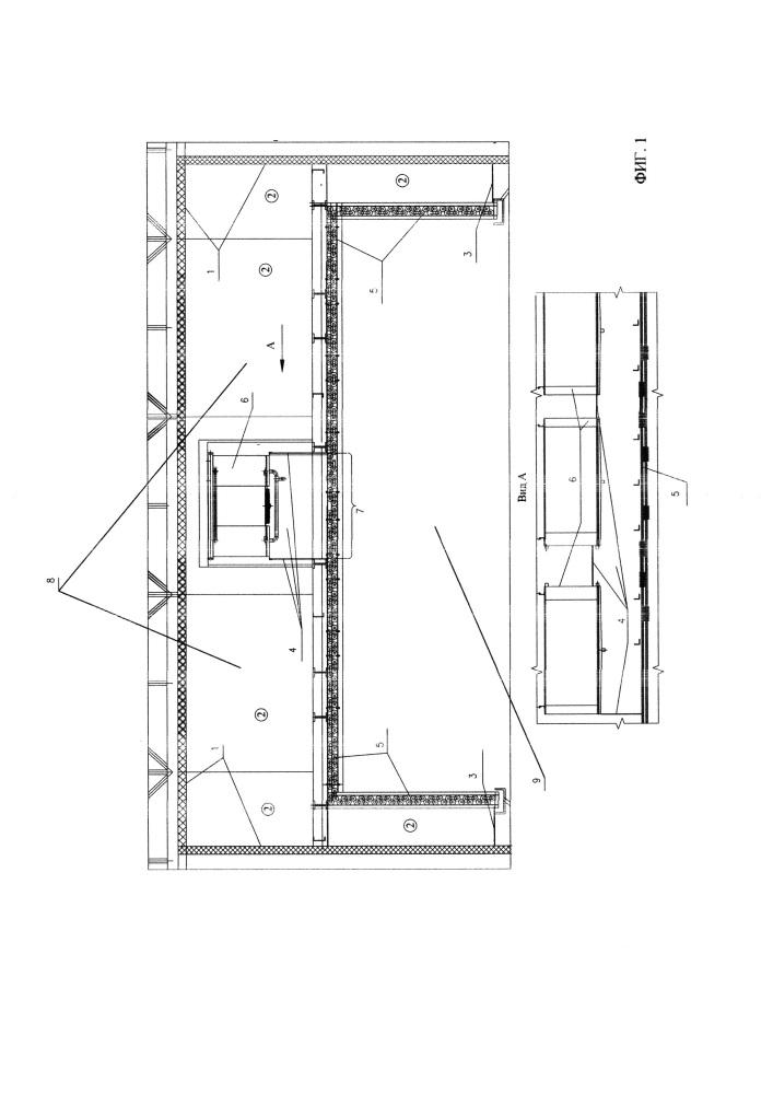 Канальная система охлаждения с требуемой конвекцией воздуха в объеме камеры
