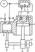 Способ реверсирования вращения вала отбора мощности двухтактного двигателя с внешней камерой сгорания
