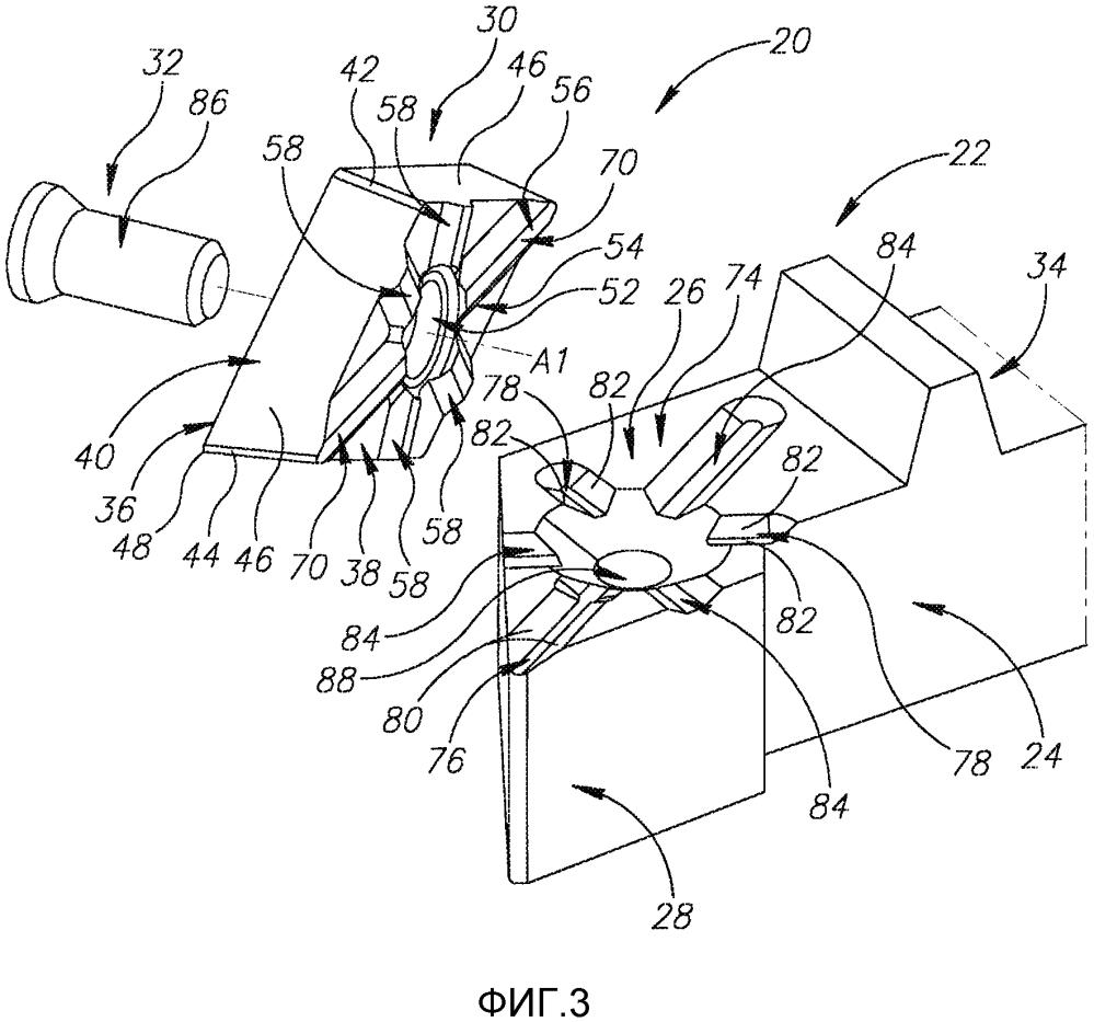 Ромбовидная индексируемая режущая пластина и режущий инструмент