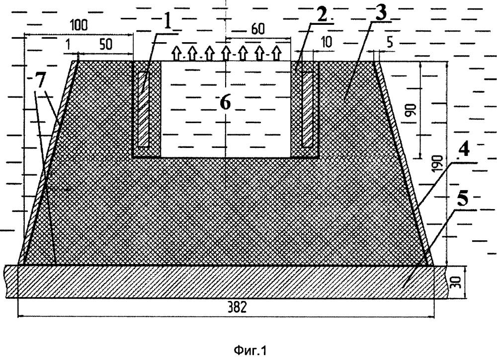 Глубоководный широкополосный гидроакустический преобразователь