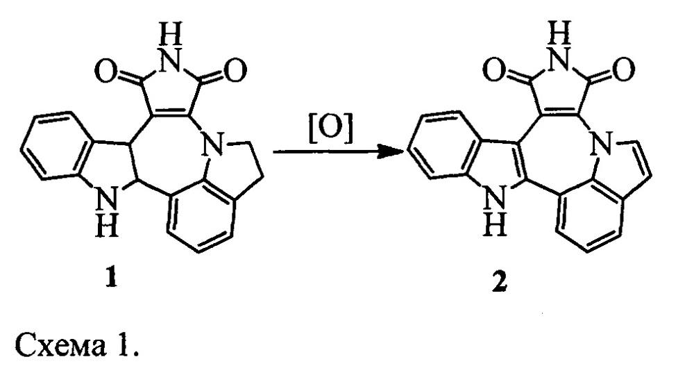 Способ синтеза индоло[1,7:1,2,3]пирроло[3,4:6,7]азепино[4,5-b]индол-1,3(2н,10н)-диона