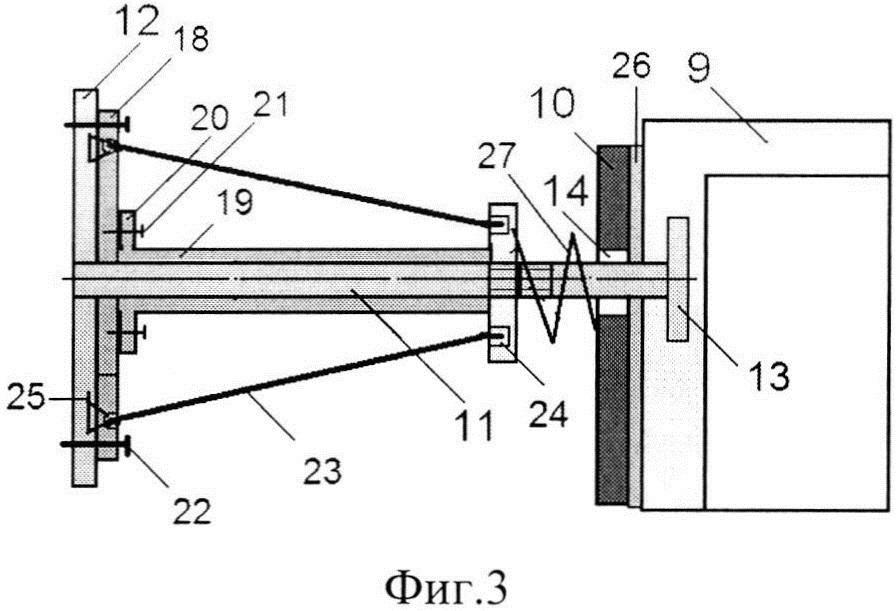 Система амортизации взрывозащитной конструкции
