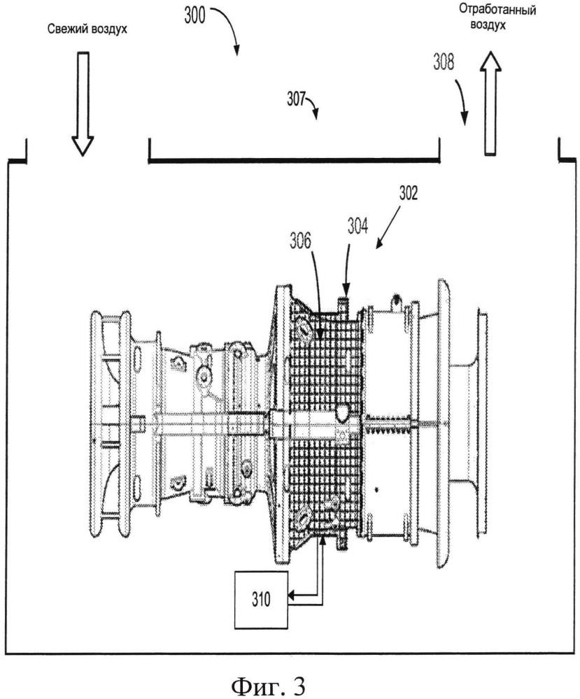 Турбинная система и способ регулирования зазоров в турбине