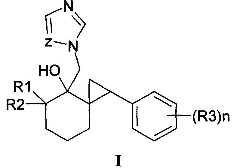 Замещенные 4-(азол-1-илметил)-1-фенил-5,5-диалкилспиро-[2.5]октан-4-олы, способ их получения (варианты), фунгицидная и рострегуляторная композиции на их основе