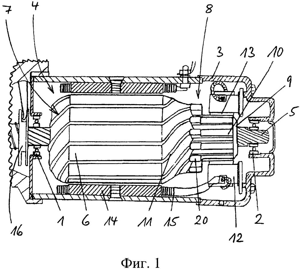 Ротор динамоэлектрической машины