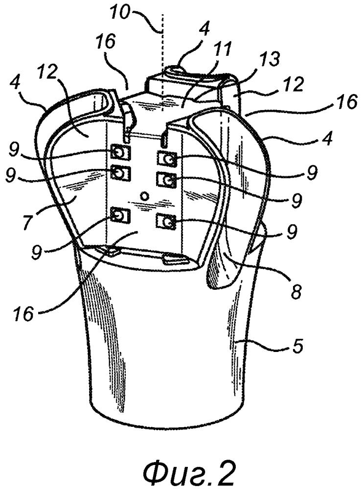 Лампа, содержащая гибкую печатную плату