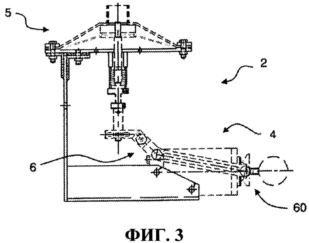 Установка пожаротушения с системой вакуумных спринклеров, которые могут активироваться приводным устройством с управлением от главного привода мембранного типа