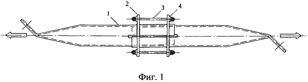 Стержневой элемент с предварительным напряжением для структурной конструкции