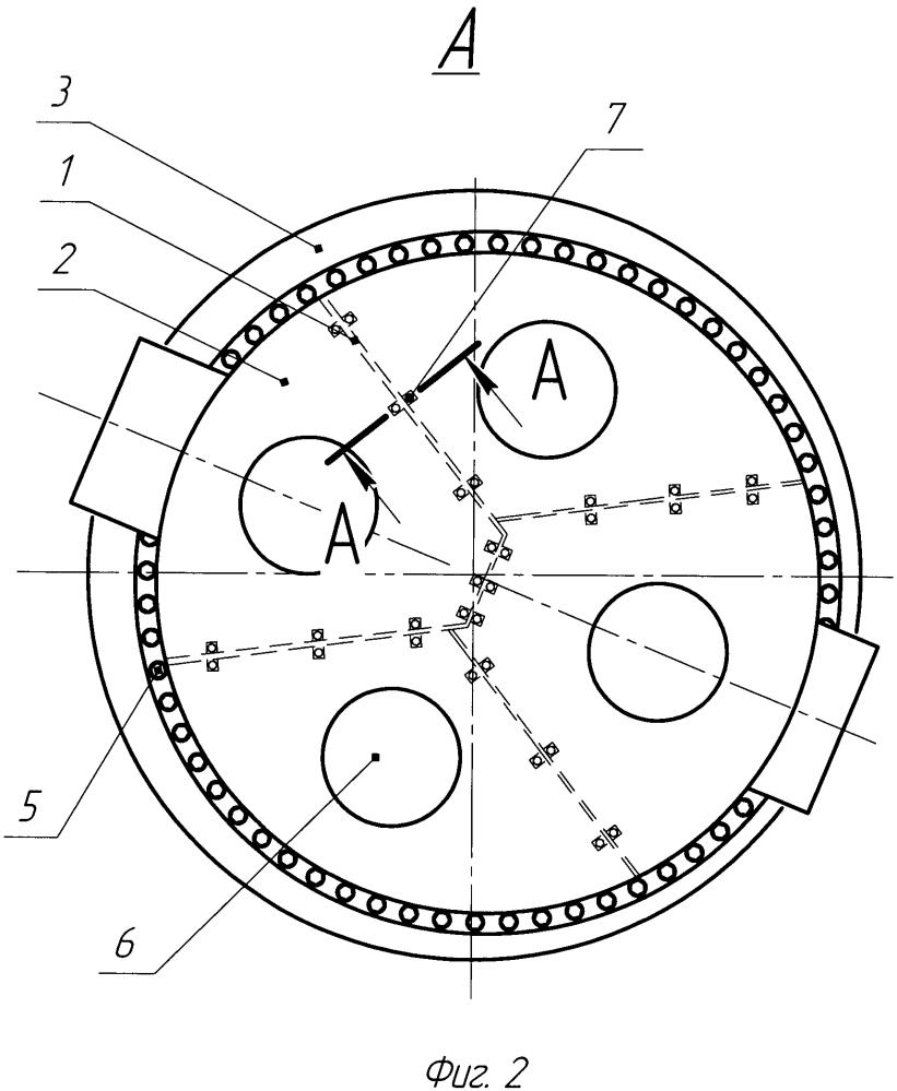 Водяная камера горизонтального сетевого подогревателя