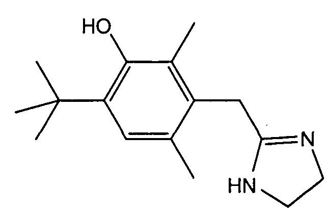 Фармацевтическая композиция в виде крема, содержащая оксиметазолин, для лечения симптомов розацеа
