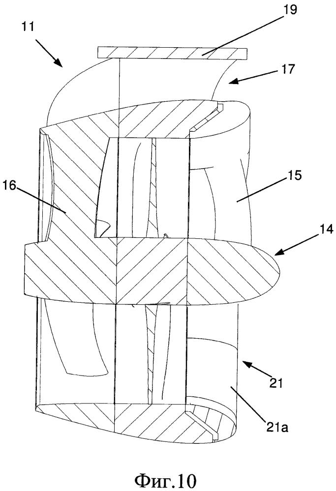Движитель для морского судна, содержащий сопло с заменяемым входным кромочным элементом на впускном отверстии сопла