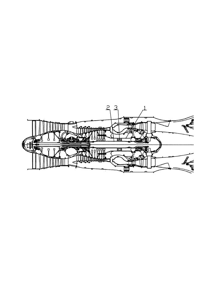 Способ управления двухроторным газотурбинным двигателем самолета при останове